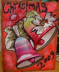 Art Journal Page - CHRISTMAS