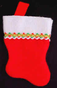 Holiday Stocking Filled with Goodies!