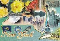 6 touristy postcard swap