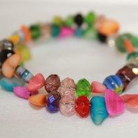 Beaded Bracelet Swap #1 – Stretch Bracelets