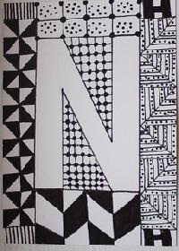 Zentangle Alphabet Series