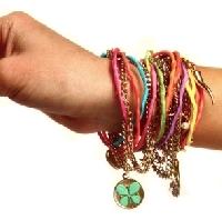 The lucky bracelet swap!