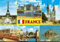 A-Z postcard collection PLACES: F
