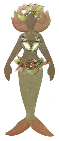 Paper Mermaid -March