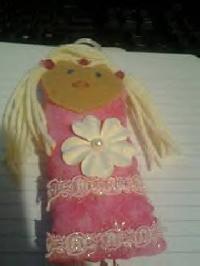 Beginner Easter Dotee doll swap