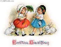 Vintage Easter Theme ATC