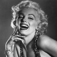 Marilyn Monroe Profile Decoration