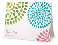 Thank you note card swap