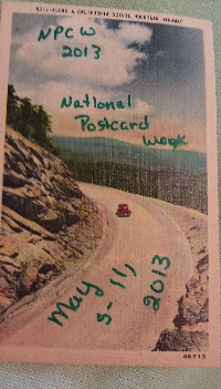 NPCW National Postcard Week  2013 #1