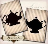 Teapot ATC *EDITED*
