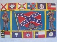 AMERICAN CIVIL WAR Postcard Swap