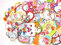 ILK: Kawaii Sticker Flake Bags - July!!!