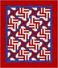 Fat 1/4 Material Fantasy Swap red,white and blue #