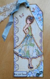 Craft: Julie Nutting Prima Paper Dolls