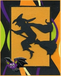 Happy Halloween handmade card