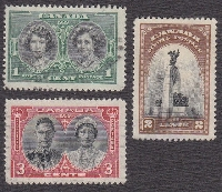 Three different stamps for your partner  one per c