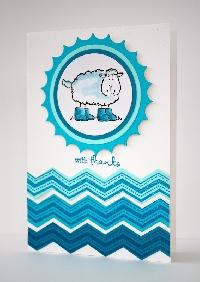 Handmade Card ~ Senders Choice Swap