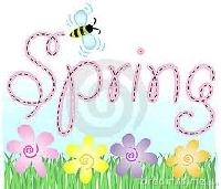 Springtime coasters