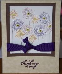 Senders Choice -- Handmade Card