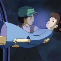 Studio Ghibli ATC Series #2 - Laputa: Castle in th