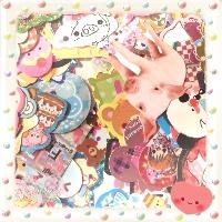 I❤K: Mini Sticker Flake Swap x3 #2