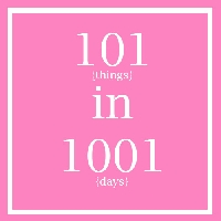 101 Things Progress- August 2013