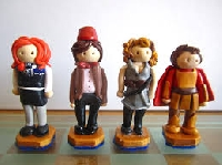 Doctor Who Polymer Clay Figures