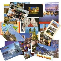 USED touristy postcards swap #7