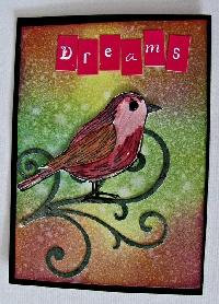 Beginners ATC #4 - Bird Theme ♪ tweet ♪