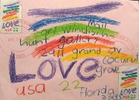 HAPPY Mail Art