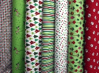 QnT Christmas fabric swap