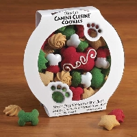Christmas Dog Treats.