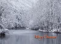 Christmas Card challenge #8~~Snow