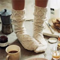 Cozy socks lovers!