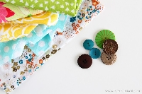 FF: Fabric Squares & Buttons!!