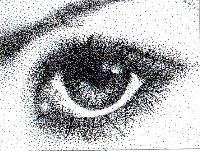 Pointillism ATC's