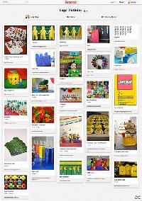 LEGO Pinterest Board
