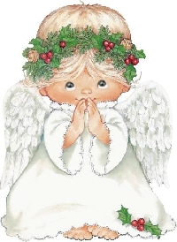 Recycle Christmas card #2 - Angel