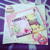 Kawaii Letter and Flat Surprise