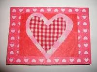 hand-made valentine USA