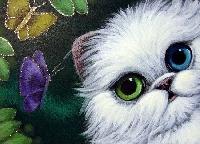 Odd Eye Cat ATC swap
