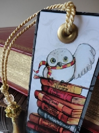 Wonderful Book Bookmarks #1 Harry Potter