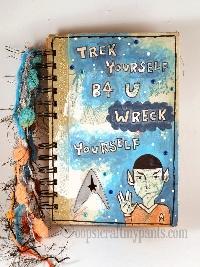 SA: Star Trek Art Journal Page