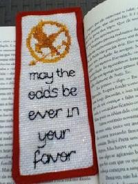 Wonderful Book Bookmarks #2 Hunger Games