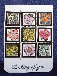 Handmade Card w/inchies or twinchies