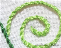 Embroidery Lessons - Stem Stitch #2