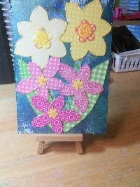 AofW: Washi postcard - Spring Theme