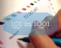 101 Things Progress- March 2014