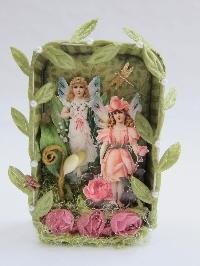 Spring Fairy ATC
