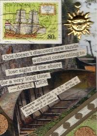ATC Challenge #3-Used Postage Stamp
